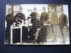 Katonai képeslap Losoncz 1912