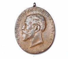 I. Károly román jubileumi érem 1866-1906