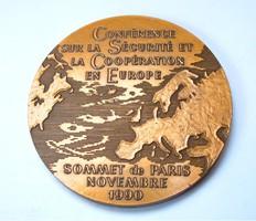 Európai biztonság és együttműködés konferencia Párizs 1990.