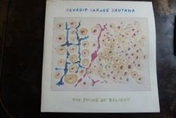 DEVADIP CARLOS SANTANA : THE SWING OF DELIGHT -DUPLA ALBUM JAZZ - ROCK LP  VINYL