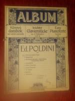 Poldini - könnyű darabok két kézre - Rózsavölgyi kotta