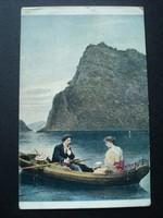 Régi képeslap /1918/