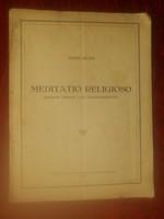König Péter - Meditatio religioso - hegedűre - kotta