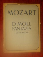 Mozart - D-moll fantázia zongorára - kotta