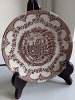 A Waddesdon Manor(Major)-Buckinghamshire-nyomatával angol csésze alátét-kistányér-14 cm