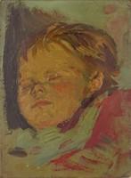 0O726 Ismeretlen festő : Gyermekportré
