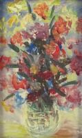 0O772 Ismeretlen festő : Virágcsendélet