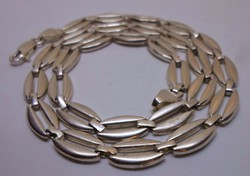 Szép régi széles ezüstnyakék