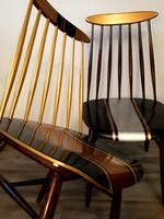 Retro pálcás székek felújítva