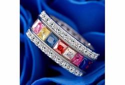 Sokszínű gyűrű 8-as ÚJ