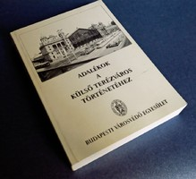 Adalékok a külső Terézváros történetéhez, könyv, ritkaság