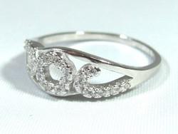 Ezüst női gyűrű (Kecs-Ag65647)