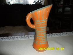 GORKA GÉZA   füles, zsűrizett váza