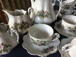 Antik teás, 5 személyes, ilyet nem sokat talál