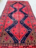 Antik Siráz értékes kézi csomózású gyapjú szőnyeg eladó 293cmx145cm