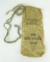 0P454 Antik angol Dr. Plumb's pipazsák
