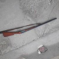 Orosz duplacsövű vadászpuska hatástalanítva