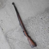 Német gyártású hibátlan állapotú mauser puska riasztóvá alakítva