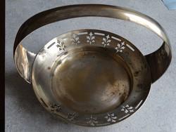 Argentor szecessziós ezüstözött kínáló az 1920-as évekből