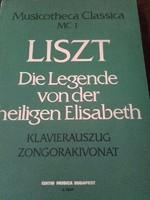 Antik kotta LISZT Die Legende von der heiligen Elisabeth