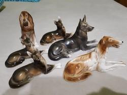 Royal Dux kutyusok