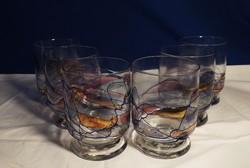 Tiffany jellegű poharak