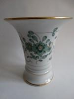 Antik meisseni váza, tölcsérváza