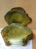 Gránit 12 részes halas tányérkészlet.