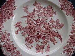 2 db Angol pink Crown Ducal  fácános tál-20 cm