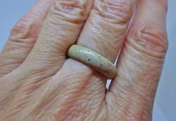 Szépséges antik valódi jáspis gyűrű