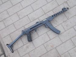 Szudajev PPS-43 héppisztoly (puska) hatástalanítva
