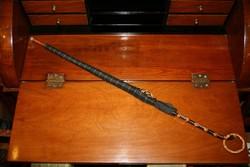 Szépséges antik esernyő különleges markolattal