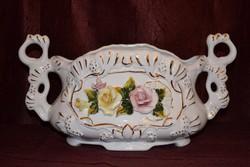 Virágos asztalközép  ( DBZ 0098 )