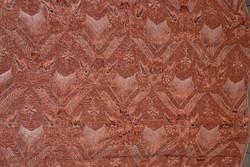 Nagy méretű anyagában szövött mintás nehéz selyem terítő  ( DBZ 0095 )