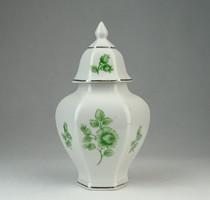 0P086 Kis méretű Hollóházi porcelán urna