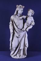 Gótikus stílusú Madonna a Gyermek Jézussal, 1830 k.
