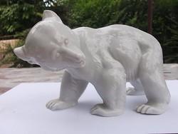 Jegesmedve Rosenthal porcelán figura ép-szép -ajándékba is