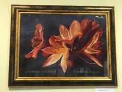 Bodor Miklós festmény: Rododendron