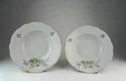 0P152 Zsolnay porcelán tányérkészlet pótlás 2 db
