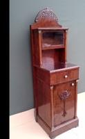 Gyönyörű Antik Francia Szecessziós  Komód ( szekrény)