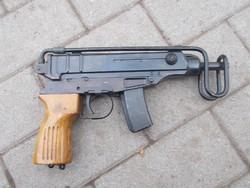 VZ-61, skorpió géppisztolypisztoly hatástalanítva
