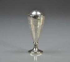 Empire ezüst sószóró;Bécs,1806