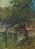 0O728 Ismeretlen festő : Tabáni ház
