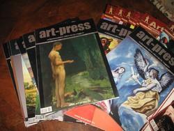 34 DB ART-PRESS MŰKERESKEDELMI INFORMÁCIÓS MAGAZIN