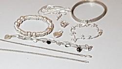 Ezüst ékszer csomag /101gr 925-ös ezüst ékszerek/