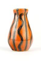 0P225 Régi retro Tófej kerámia váza