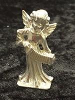 Ezüst miniatűr angyalka