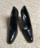 Különleges eredeti Joan David olasz cipő a 80-as évek divatja tiszta bőr kézi munka