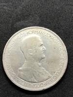 Horthy ezüst 5 pengő 1930, ingyenes szállítás (Mo)