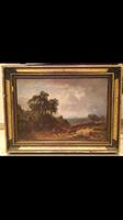 Külföldi festmény 1850 es évek singózot